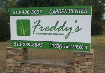 Lawn Care Sign