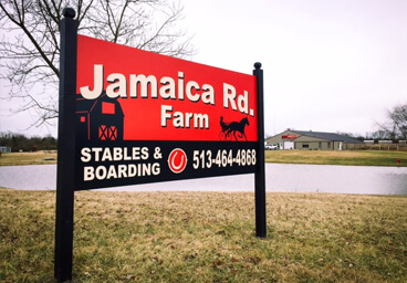 Stabling Sign